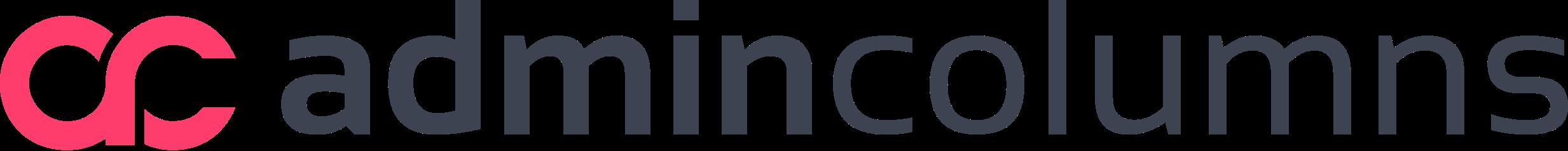 Admin Columns pink logo