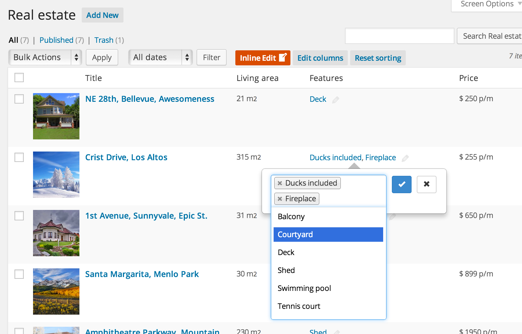 "Done! Inline editing is now enabled for posts. To edit a post, simply click on the ""Edit"" icon in the column."
