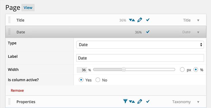 Admin Columns Pro 3 4 2 - New width slider and columns - Blog
