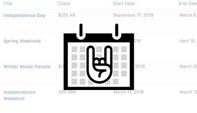 Events Calendar Integration for Admin Columns